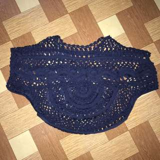 Knitted Top Or Cover Up