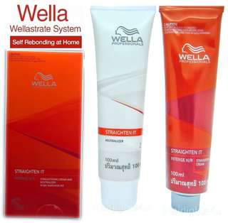 FREE SHIPPING WellaStrate Hair Straight it Ubat Lurus Rambut Wella Rebond Rebonding