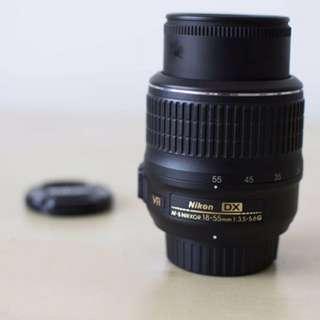 Nikon Kit Lens. Nikkor 18-55mm