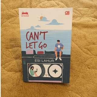 novel metropop bahasa indonesia  preloved/second/bekas can't let go