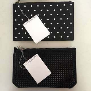 Witchery Coin Purse Zip Pouch $20 Each