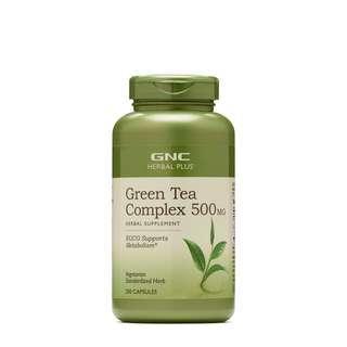 GNC Green Tea Complex 500MG (200 Capsules)