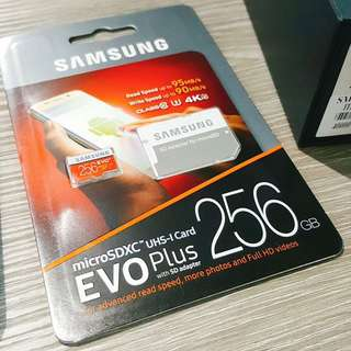 Samsung 256gb Micro SDXC Card