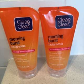 Clean And Clear Facial Scrub