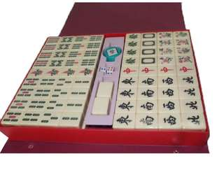 Mahjong Set Ivory Classic With Number Characters