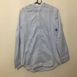 Blouse with Hoodie