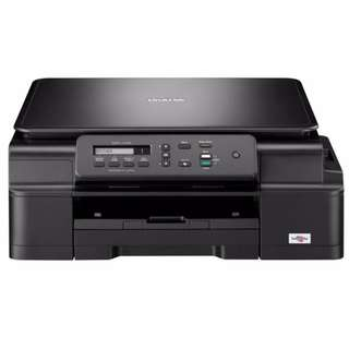 Brother DCP-J100 Colored and Black and White Printer