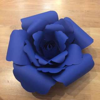 Giant Paper Flower Decoration