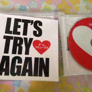 LET'S TRY AGAIN!! Album by Amuse Team jp