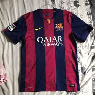 Barcelona FC Home Kit 2014/2015 Authentic