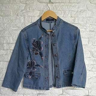 Vintage Bado Denim 3/4 Sleeve Jacket