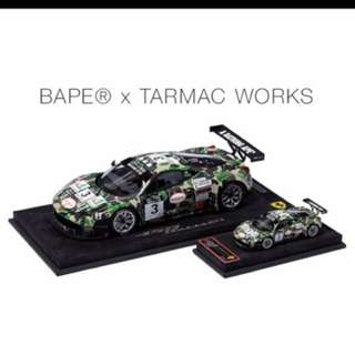 Bathing Ape Ferrari Car Model