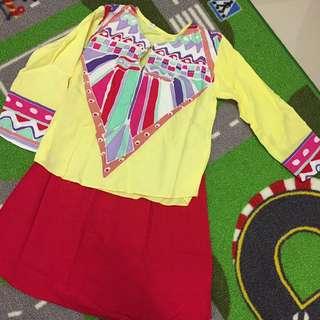 Preloved Batik Baju Kurung