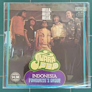 Two Malay Old Vinly Records