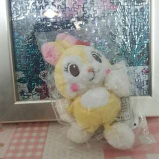 毛球邦妮兔娃娃吊飾