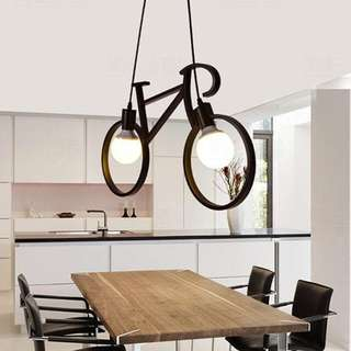 Bike ( Bicycle) Pendant Drop Light Chandelier