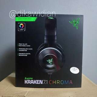 Headphone Razer Kraken Chroma 7.1