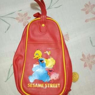 Sesame Street Genuine Leather Bag