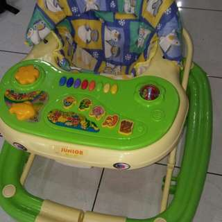 Junior Baby Walker 3 In 1