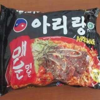 7pcs Arirang Instant Noodles (Extra Hot)