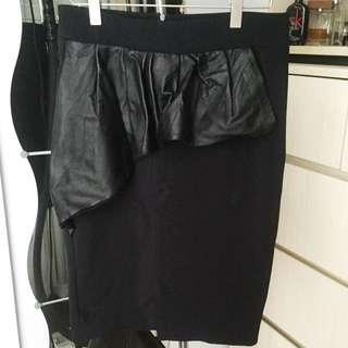 Zara Skirt Half Peplum