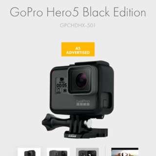 澳洲代購GoPro Hero5 Black