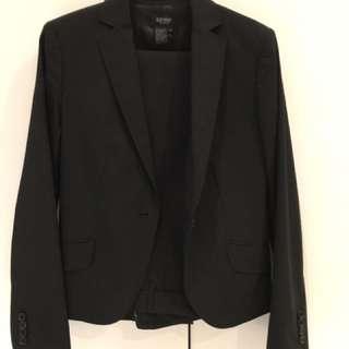 Oxford black suit