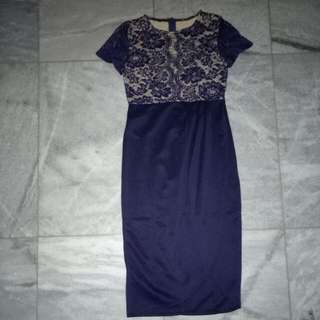 Dress Lace Brukat
