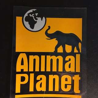 Discovery Channel Animal Planet Decal