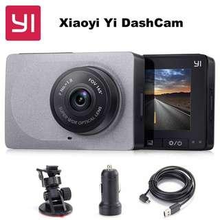 YI Smart Dashcam with WIFI (165° wideangle; 1080P HD)
