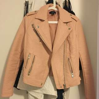 (Price Drop) Forever21 Pink Leather Jacket