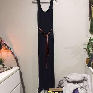 Basic Full Length Bonds Dress