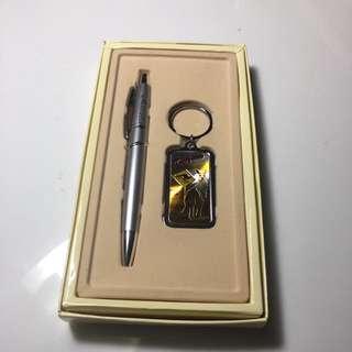 Pen & Keyring Set From Australia