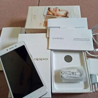 Oppo A37 Fullset Like New