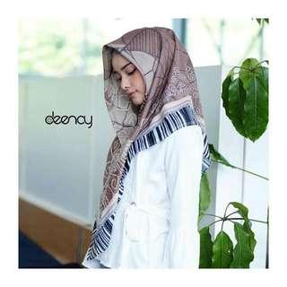 Hijab Printing Syar'i Segiempat (Deenay)