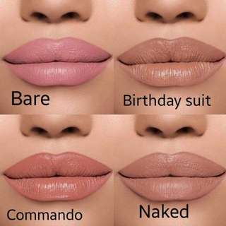 Kylie's Vacation Collection lipsticks