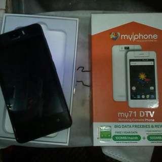 myphone my71 dtv