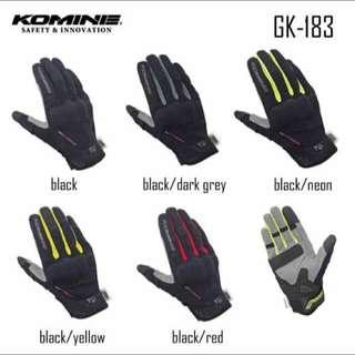 [INSTOCK] Komine GK-183