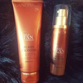 Lancome Self Tanners Face And Legs