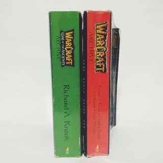 Warcraft and Diablo storybooks, novels