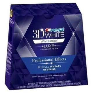 Crest Professional Effects 3D White美白牙齒貼片