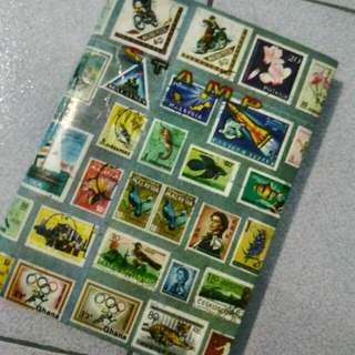 Antique And New Stamps From Diff Countries