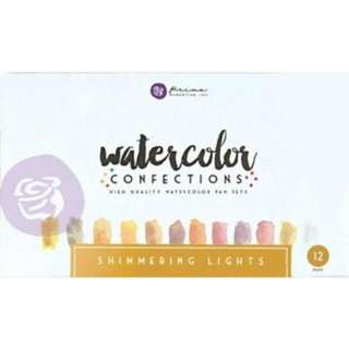 Prima - Mixed Media - Watercolor Confections - Shimmering Lights