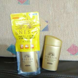 Shiseido 資生堂 Anessa 安耐曬 全新 黃金鑽級高效防曬露60ml