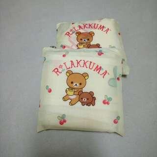 (換)7-11拉拉熊❌茶小熊大收納環保袋