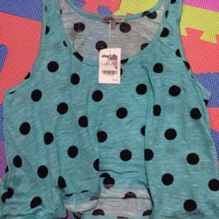 Brand New Charlotte Russe Crop Top