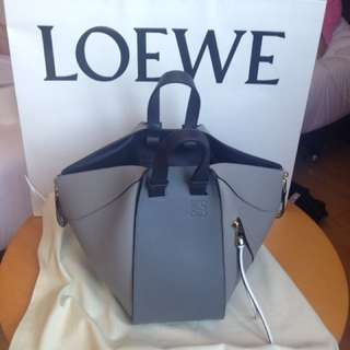 loewe new collection Hammock Small Bag Grey Multitone
