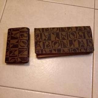 Bonia Wallet N Key chain Bag