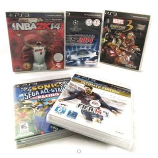 PS3 Video Game Bundle