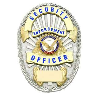 Security Officer Badge (80gm)